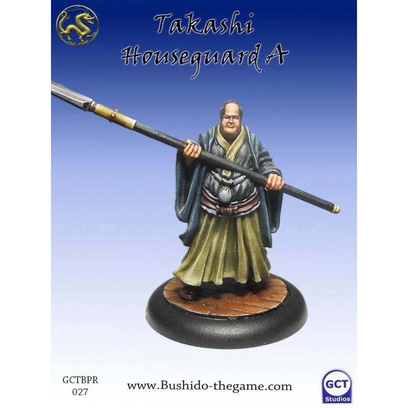 Figurine Bushido - Takashi Houseguard A