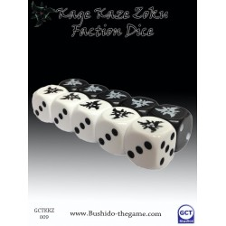 Bushido - Faction Dice (10) - Kage Kaze