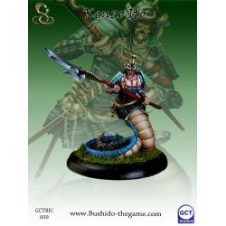Figurine Bushido The Game - Kenzo Ito