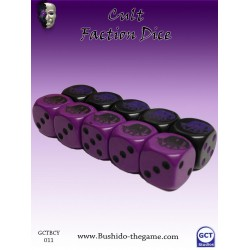 Bushido - Faction Dice (10) - Cult of Yurei