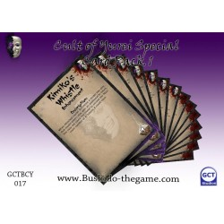 Bushido - Special Card Pack - Cult of Yurei