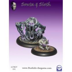 Figurine Bushido - Souta & Sloth