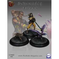 Bushido  the Game - Sukuratchi & animals