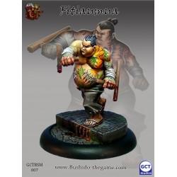 Figurine Bushido - Fitiaumua