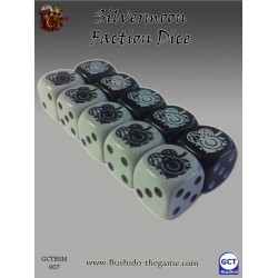 Bushido - Faction Dice (10) - Silvermoon Trade Syndicate
