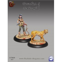 Bushido the Game - Honoka & Hakushi (Shatei with Leopard)