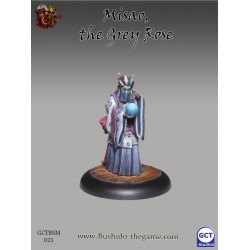 Figurine Bushido - Misao the grey rose