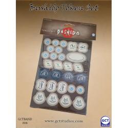 Bushido - Token set (Carton type Punch board)