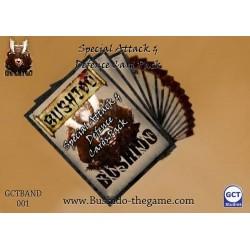 Bushido - Attack and defense card