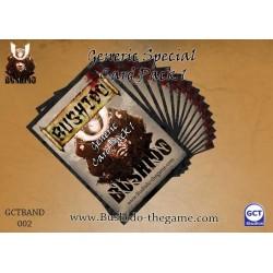 Bushido - Card Pack - Generic 1