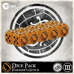 Guild Ball - Farmer's Guild Dice Pack
