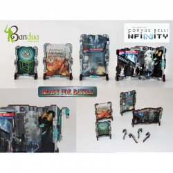 Bandua - Holographic Street Signs - Set 1