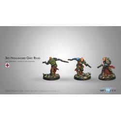 Infinity - 3rd Highlander Grey Rifles (2 Fusils à Pompe)