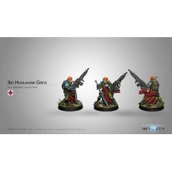 Infinity - 3rd Highlander Grey Rifles (HMG AP)