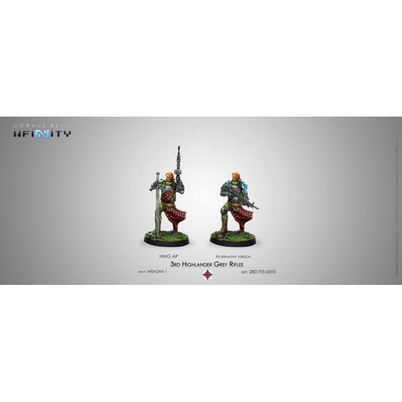 Infinity the Game - 3rd Highlander Grey Rifles (HMG)