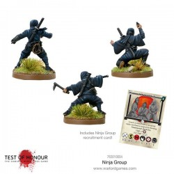 Test of Honor – Blister de Ninjas