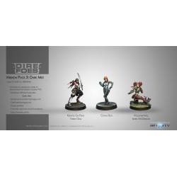 Figurine Infinity (Corvus Belli) - Dire Foes Mission Pack 3 : Dark Mist