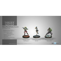 Figurine Infinity (Corvus Belli) - Dire Foes Mission Pack 2 : Fleeting Alliance