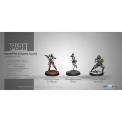 Figurine Infinity (Corvus Belli) - Dire Foes Mission Pack 2 : Fleeting Alliance