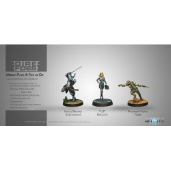 Figurine Infinity (Corvus Belli) - Dire Foes Mission Pack 4 : Flee or Die