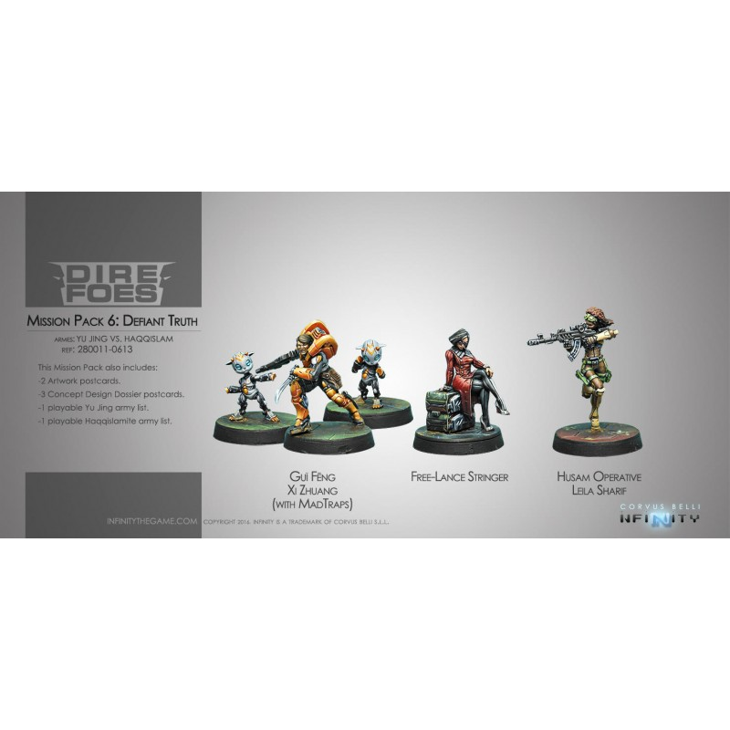 Figurine Infinity (Corvus Belli) - Dire Foes Mission Pack 6 : Defiant Truth