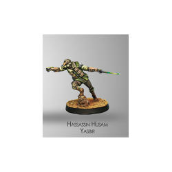 Figurine Infinity (Corvus Belli) - Dire Foes Hassassin Husam Yasbir