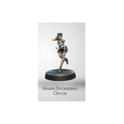 Figurine Infinity (Corvus Belli) - Dire Foes Naval Engineering Officer