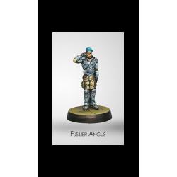 Figurine Infinity (Corvus Belli) - Dire Foes Fusilier Angus