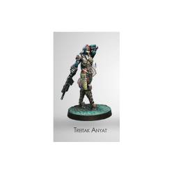 Figurine Infinity (Corvus Belli) - Dire Foes Treitak Anyat