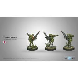 Figurine Infinity (Corvus Belli) - Veteran Kazak (HMG AP)