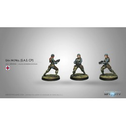 Figurine Infinity (Corvus Belli) - Uxia McNeill (Fusil d'abordage)