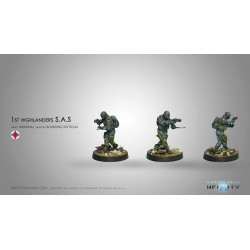 Figurine Infinity (Corvus Belli) - S.A.S. (Fusil d'Abordage)