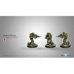 Figurine Infinity (Corvus Belli) - Veteran Kazak (Fusil T2)