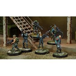 Figurine Infinity (Corvus Belli) - Starter Pack Ariadna - Force de Réponse Rapide Mérovingienne