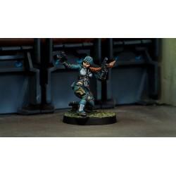 Figurine Infinity (Corvus Belli) - Uxia McNeill (Covert Action)