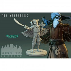 Drowned Earth - Bluewing (Figurine du starter)