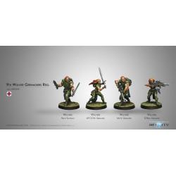 Figurine Infinity (Corvus Belli) - Wulver Grenadiers Regiment
