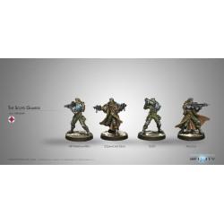 Figurine Infinity (Corvus Belli) - Scots Guards, 6th Caledonian Infantry Regiment