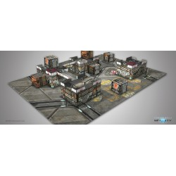 Infinity - Kurage Station Scenery Pack