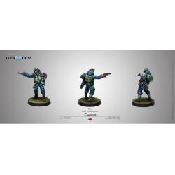 Infinity - Chasseurs (Fusil et lance-flammes léger)