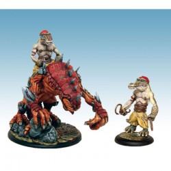 Briskars - Dragon Crète Monture et Sibahis