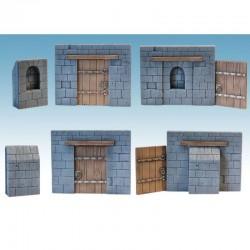 Briskars - Mur et porte de...