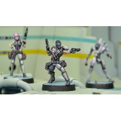 Figurine Infinity (Corvus belli) - Acmon, Sergent Dactyl