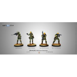 Infinity - Brawlers, Mercenary Enforcers