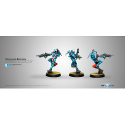 Infinity - Crusader Brethren (MULTI Rifle + Light FT)