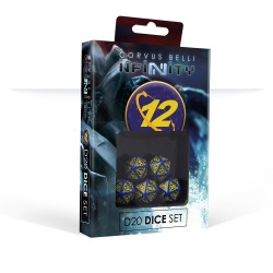 Infinity - Set de dés O-12