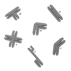 Battle Systems - Plastic Terrain Clips