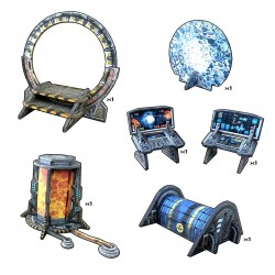 Battle Systems - Sci-fi Dimension Gate