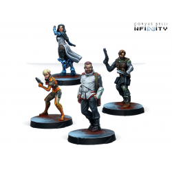 Infinity - Agents of the Human Sphere - RPG Characters set