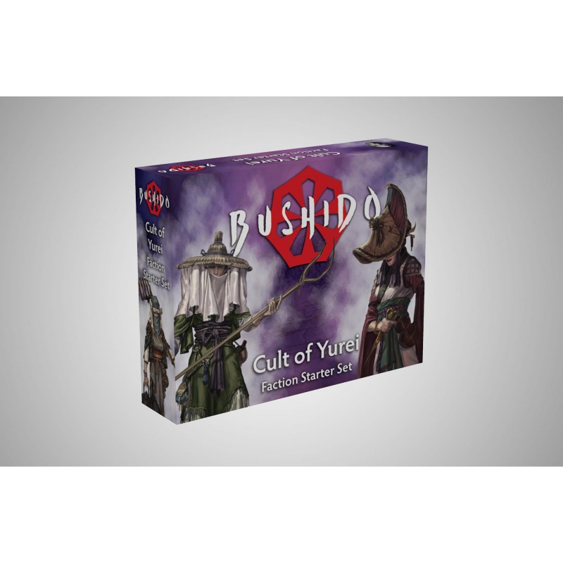 Figurines Bushido the Game - Starter Pack - Cult of Yurei